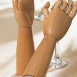 Posable Hands Salt & Pepper Mills