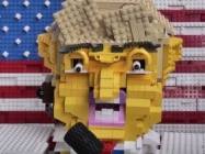 Try, But You Cannot Unsee Donald Trump As A LEGO Robot