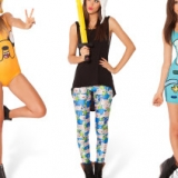 Adventure Time x Black Milk Clothing
