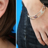 Avengers Jewelry - Thor Earrings & Captain American Bracelet