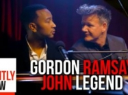 John Legend Singing Gordon Ramsay Insults Is Amazing