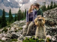 An Engagement Shoot Improved By A Squirrel Photobomb