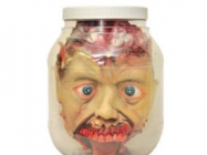 Halloween Scary Head in the Jar