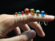 You're Gonna Want This Set Of Stackable Solar System Rings
