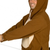 Racanooki Hoodie With Moveable Tail