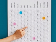Kind Of Obsessed With This Poppable Bubble Wrap Calendar