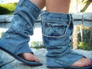 Uh, What?: Jean/Boot/Sandal Thingies