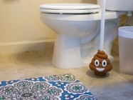 Your Bathroom Desperately Needs The Poop Emoji Plunger