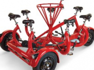 Here's A Seven Person Tricycle, Because Why The Hell Not?