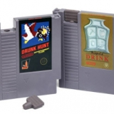 Video Game Cartridge Flasks