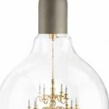 Chandelier Inside A Light Bulb