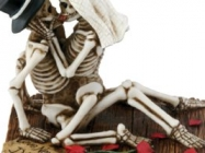 Love Making Skeleton Sculpture