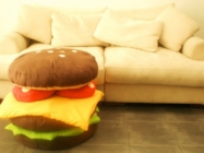 Stackable Hamburger Cushions Look Good Enough To Eat