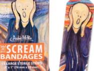 Accident-Prone Art Aficionados Will Like Scream Bandages