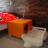 Hunde Hus Indoor Dog House/Bedside Table
