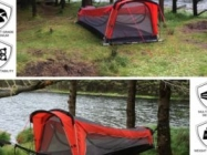 WHOA: A Tent Hammock Sleeping Bag Inflatable Mattress Combo