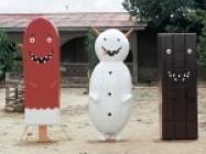 Bizarre Coffin Designs by Olaf Breuning