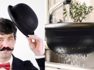 This Strainer Shaped Like A Bowler Hat Is Fancy, Convenient