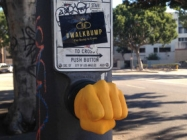 Why Press A Crosswalk Button When You Can Fistbump It?