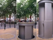 Meet Urilift, A Self-Cleaning, Pop Up Urinal For Weeing In Public