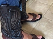 Are Cowboy Boot Sandals The Latest Trend For Summer?