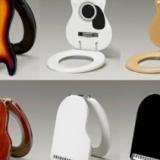 Guitar & Keyboard Toilet Seats