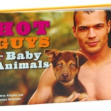 Hot Guys And Baby Animals Book
