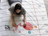 Draw On Your Bedding With This Super Fun Doodle Duvet