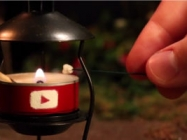 Making Miniature S'mores On A Miniature Camping Trip...