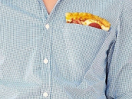 The Pizza Pocket Shirt Has A Compartment Just For Za