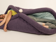 Blandito, A Cozy Cushion That Turns You Into A Burrito