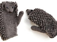 Make Your Own Hedgehog Mittens