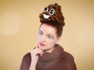 This Poop Emoji Hair Is The Classiest Hairdo Of All!