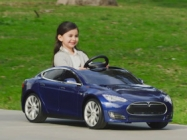 Now There's A Tesla Model S For Kids Because Your Kid's Fancy