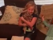 This Girl's Reaction When She Gets A Doll With A Prosthetic Leg Is Absolutely Heartwarming