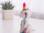This Crying Unicorn Candle Sheds Wax Tears As It Burns
