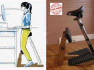 Finally! A Chair For Your Standing Desk
