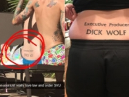Someone Got A Dick Wolf Tattoo & More Incredible Links