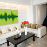 Personalized Sound Wave Wall Art