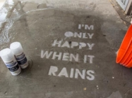 Street Art That Only Appears When It Rains