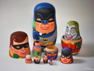 Move Over Babushkas! Need Room For Batman Nesting Dolls