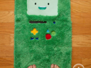 Your Bathroom Needs This Adventure Time BMO Bathmat