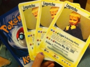 Pokemon Card Party Invitations