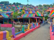 You've Got To See This Gorgeous Indonesian Rainbow Village!