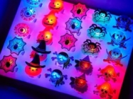 Halloween 50 Piece Multicolored LED Finger Lights