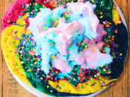 'Unicorn Pizza', A Giant Rainbow Sugar Cookie