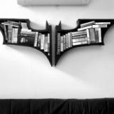 The Dark Knight Bookshelf
