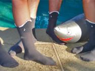 3D Shark Shaped Socks