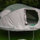 Trampoline Tent Or Tent Trampoline