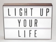 Express Yourself With This Personal Marquee Lightbox